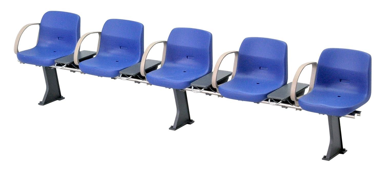 1/12 railway accessory series EK-09 new station bench Blue Tommy Tech 261735