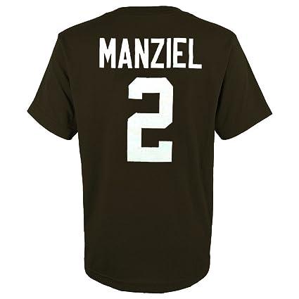 60b8f80f Amazon.com : Outerstuff Johnny Manziel NFL Cleveland Browns Jersey T ...