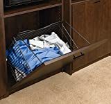 Rev-A-Shelf CTOHB-161319-ORB-5 Closet Tilt Out Hamper Basket Oil Rubbed Bronze