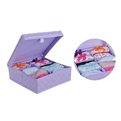 Alto nivel sintética Material sujetador de ropa interior organizador calcetines calzoncillos ingathering y recopilación de caja