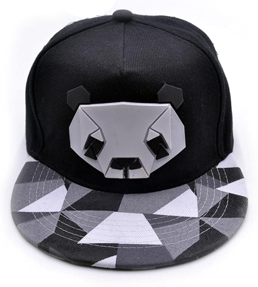 LuckyGirls Gorras de Béisbol Unisex Panda Hip Hop Sombreros (Talla ...