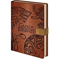 "Pyramid International A5 Game Of Thrones ""sigils"" Notebook"