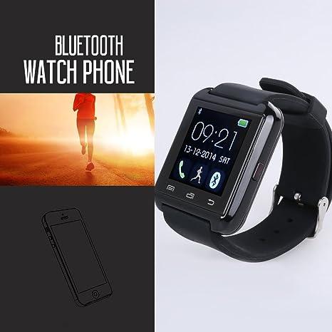 Flylinktech® U8 plus Moda 3.0 SmartWatch Bluetooth pantalla táctil reloj Relojes para Android Samsung Galaxy