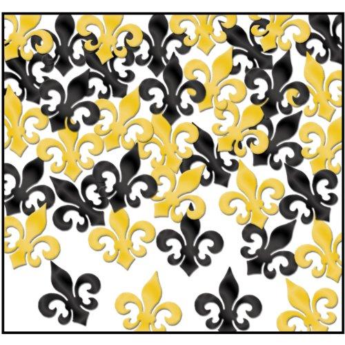 Fleur De Lis Centerpiece (Beistle 57814-BKGD Fanci-Fetti Fleur De Lis Party Iem)