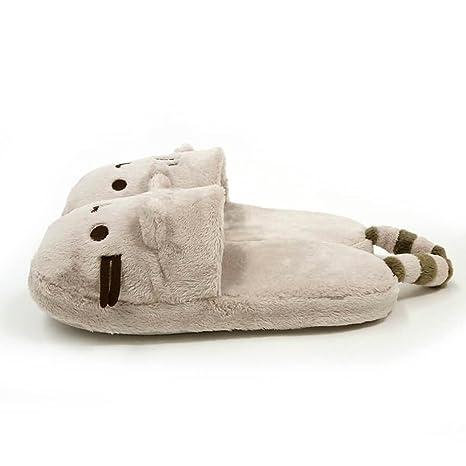 e77361288d6 Amazon.com  GUND Pusheen Cat Plush Stuffed Animal Slippers
