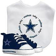 Baby Fanatic Bib with Pre-Walker, Dallas Cowboys