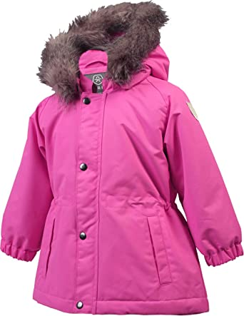 Winter Softshell Jacke Color Kids Lavd Padded Blau Kinder