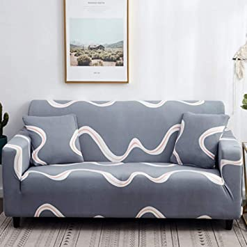 Miraculous Amazon Com Berteri Grey Loveseat Sofa Cover Spandex Anti Gmtry Best Dining Table And Chair Ideas Images Gmtryco