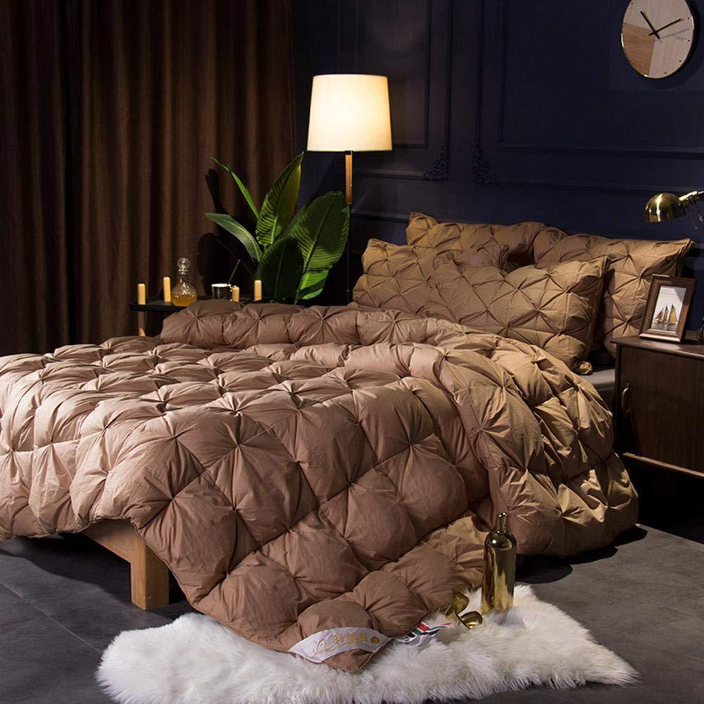 Littlefairy daunendecke,Baumwolle Decke 95% weiße Gans SAMT Herbst und Winter Verdickung warmes Geschenk Quilt Kern