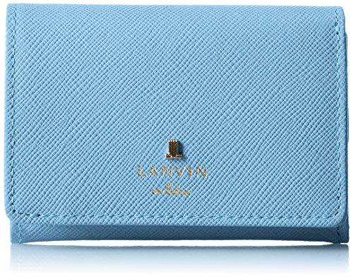 [랑방 온 블루] 3단 접이 지갑 【신색】룩셈블・컬러 481173