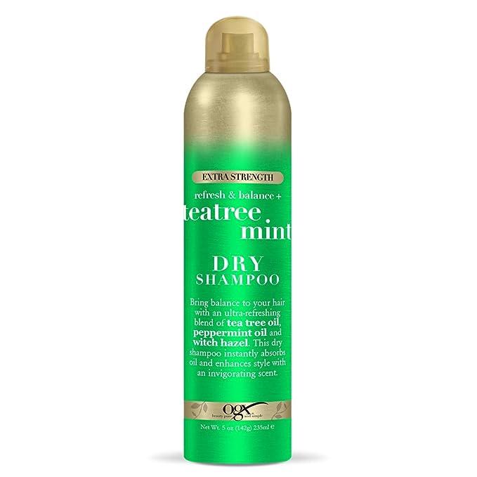 Amazon.com : OGX Refresh & Balance + Tea Tree Mint Dry Shampoo, 5 Ounce (64071) : Beauty