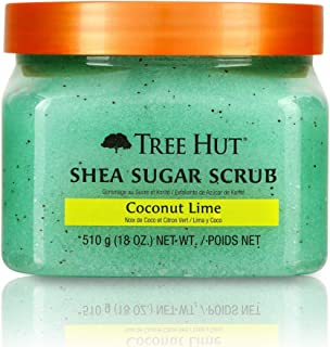 product image for Tree Hut Shea Sugar Scrub Coconut Lime, 18oz, Ultra Hydrating and Exfoliating Scrub for Nourishing Essential Body Care (Pack of 3)