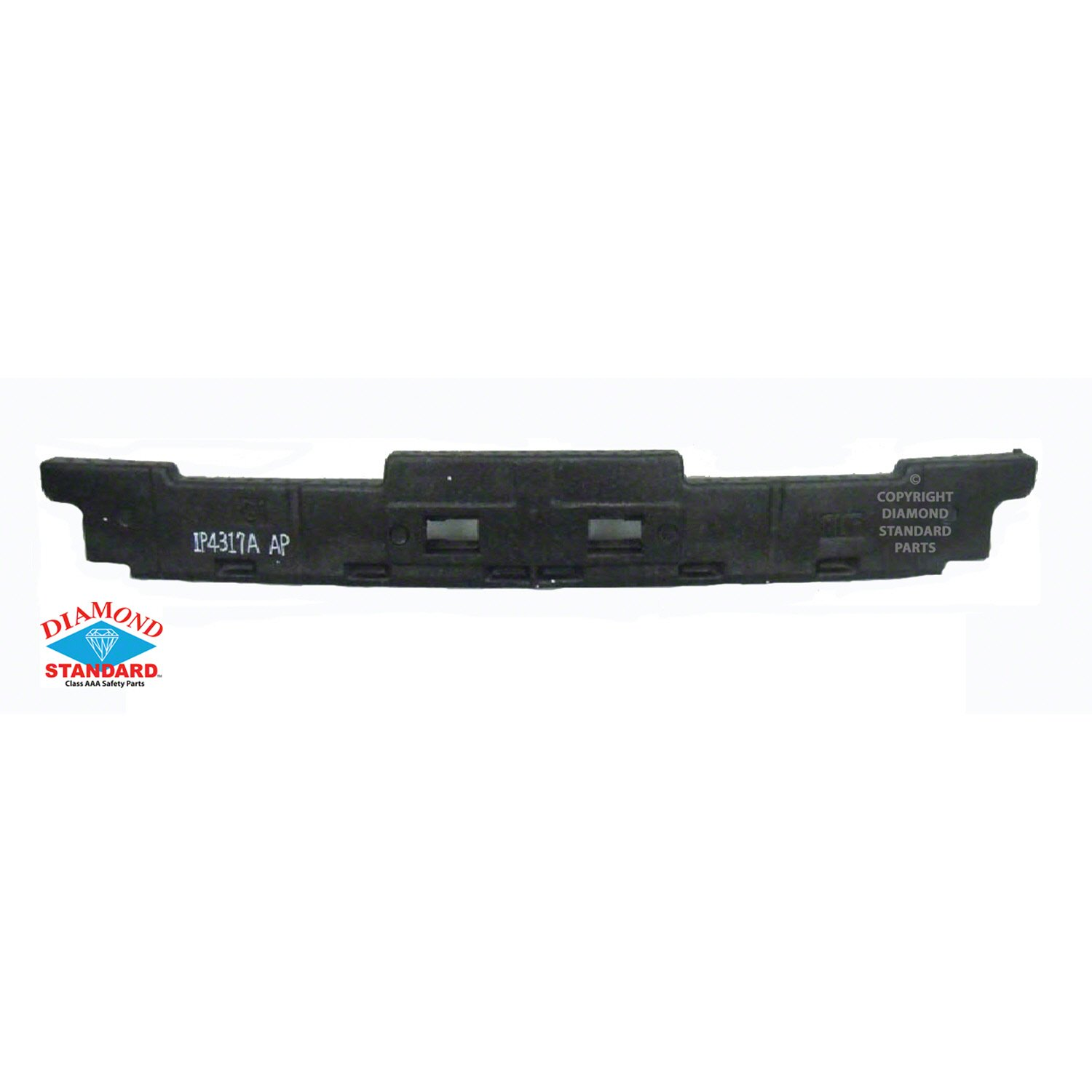 NEW REAR BUMPER ABSORBER FITS 2009-2010 TOYOTA COROLLA TO1170129