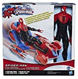Turbo Man Toy Best Deals - Spiderman Titan Heroes Series Action Figure with Giant Spider Turbo Racer Car