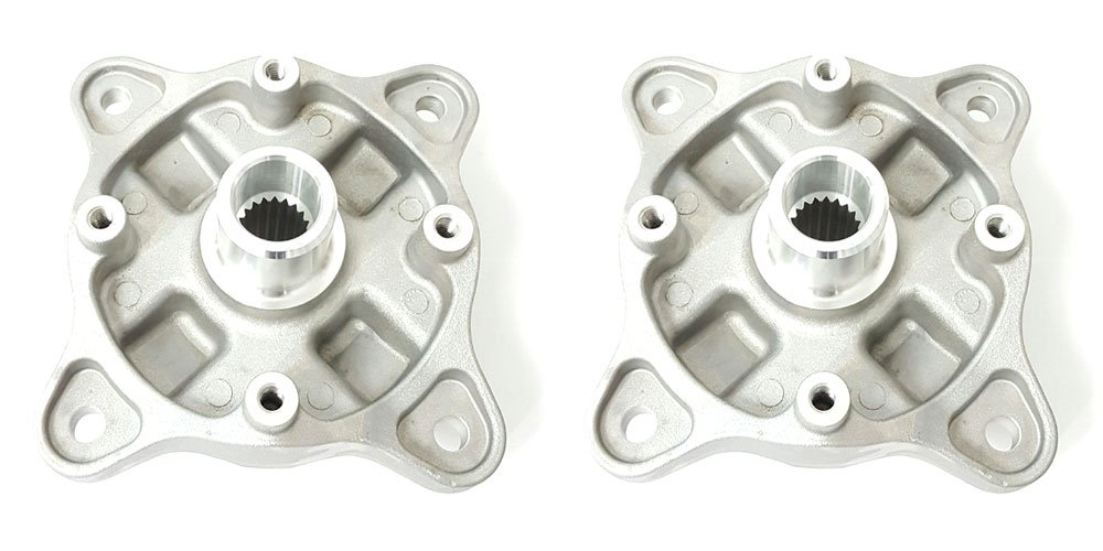 Volar Front Left and Right Wheel Hub with Bearings for 2004-2014 Polaris Sportsman 500