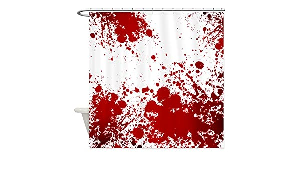 Amazon CafePress Dexter Morgan Bloody Decorative Fabric Shower Curtain 69x70 Home Kitchen