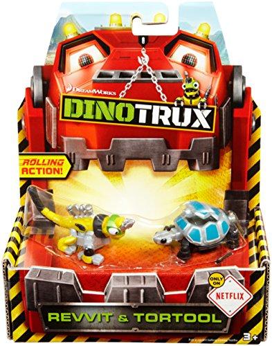 Dinotrux Diecast, Revvit & Tortool (2-pack)
