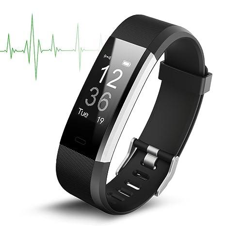Smart Watch Wasserdichte IP67 Activity Tracker mit Pulsmesser - Fitness Tracker 0,96 \\