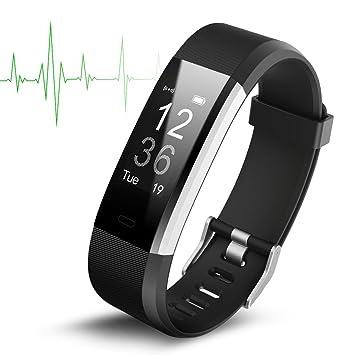 Smart Watch Wasserdichte IP67 Activity Tracker mit Pulsmesser ...