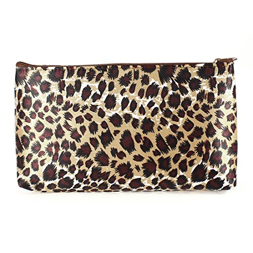 uxcell Leopard Pattern Cosmetic Accessory