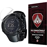 Ace Armor Shield Shatter Resistant Screen Protector for the Suunto Ambit 3 Peak Smart Watch with free lifetime Replacement warranty