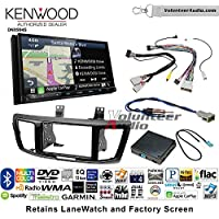 Volunteer Audio Kenwood Excelon DNX994S Double Din Radio Install Kit with GPS Navigation Apple CarPlay Android Auto Fits 2013-2015 Honda Accord