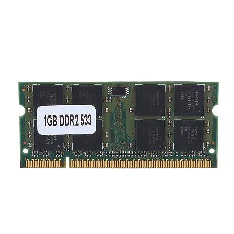Fishlor Memoria DDR2 1GB RAM, 1GB DDR2 533MHz 200Pin para la ...