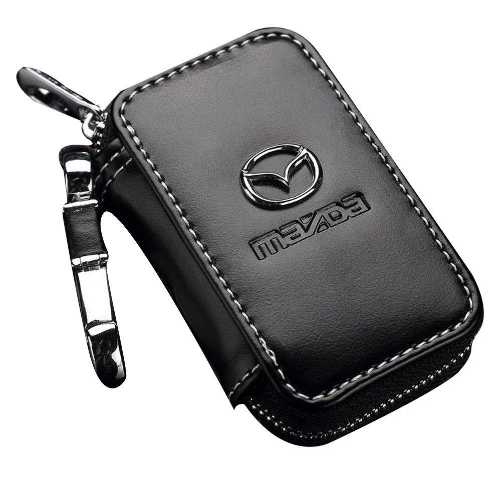 fit Kia ffomo Bearfire Leather Car Key Case Remote Control Package Auto Key Chains