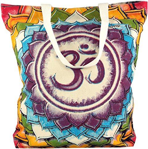 Mirror Shopper Om / Sadhu Bag, Hippie Beutel