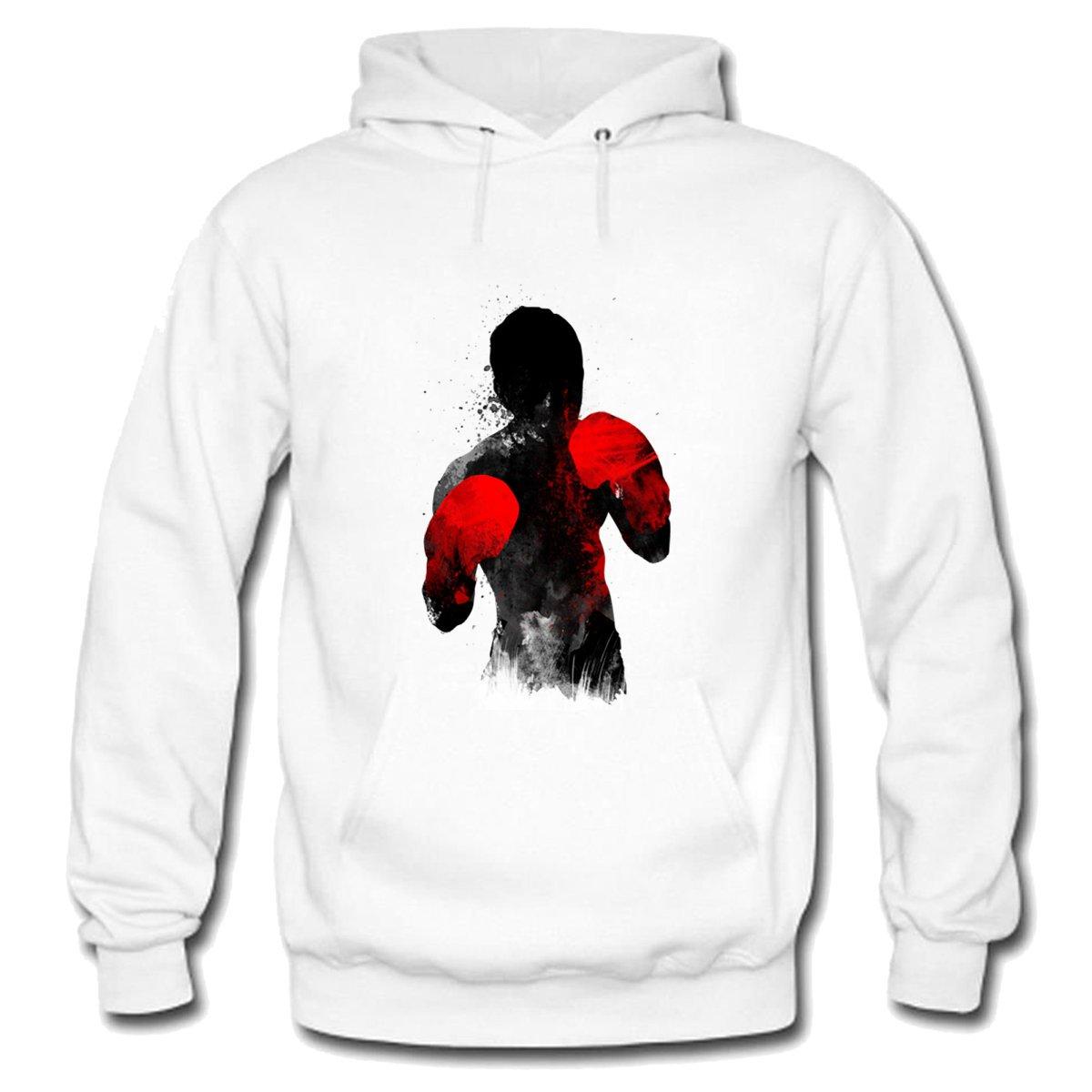 GENPO Freedom Fighter Mens Heavyweight Fleece Hoodie