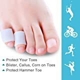 Povihome Gel Toe Protector, Toe Sleeves for