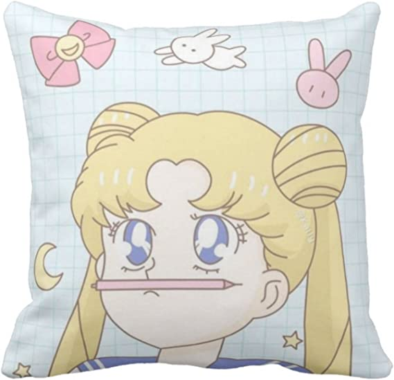 Sailor Moon Throw Pillow Cute Chibiusa