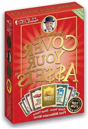 WOGQX Juego de cartas para cubrir tus activos (4 a 6 jugadores), divertido juego de coleccionista familiar, para niños, adolescentes y adultos (a partir de 7 años): Amazon.es: Hogar