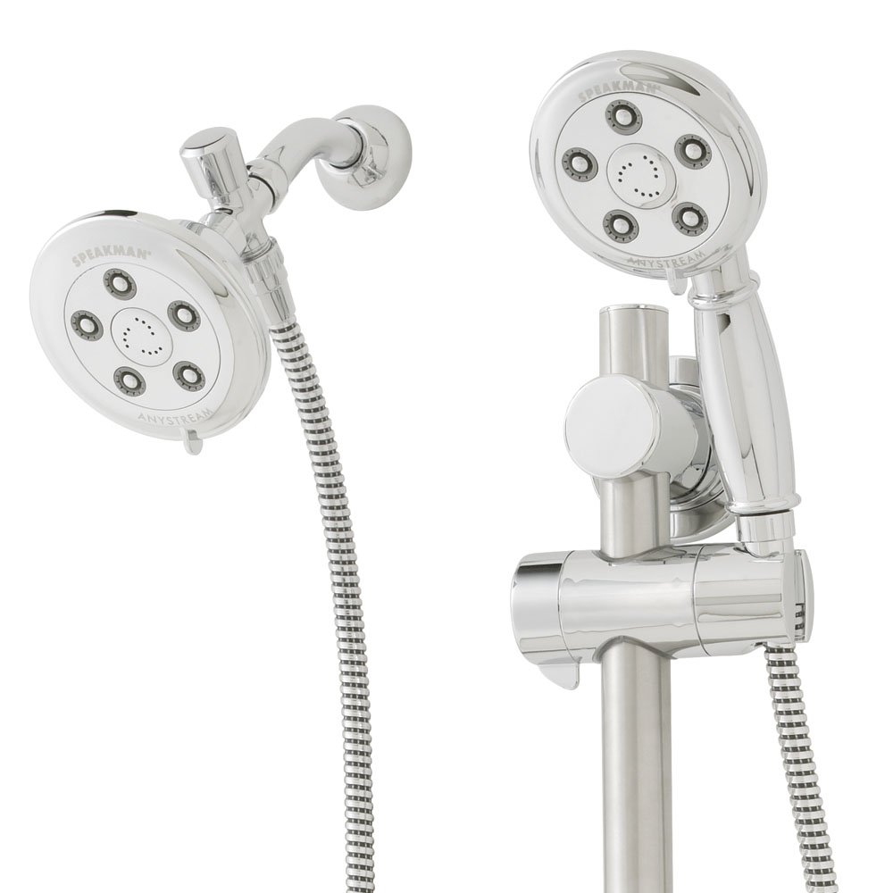 Speakman Alexandria VS 123011 2.5 Gpm Hand Shower With Shower Head   Shower  Systems   Amazon.com
