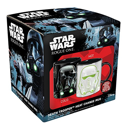 Price comparison product image Star Wars Rogue One Heat Change Mug Death Trooper Paladone Products Cups Mugs