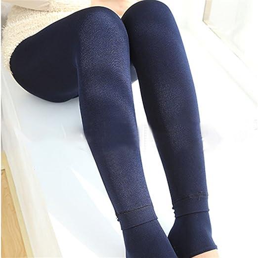 3aafca7d930 Amazon.com  Winter Women Thick Cotton Cashmere High Waist Elastic ...