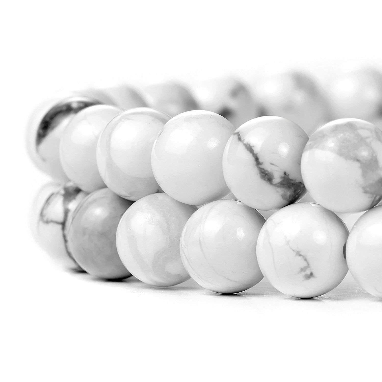 Rubyca Cuentas redondas sueltas de piedras preciosas naturales para hacer joyas artesanales 1 hebra