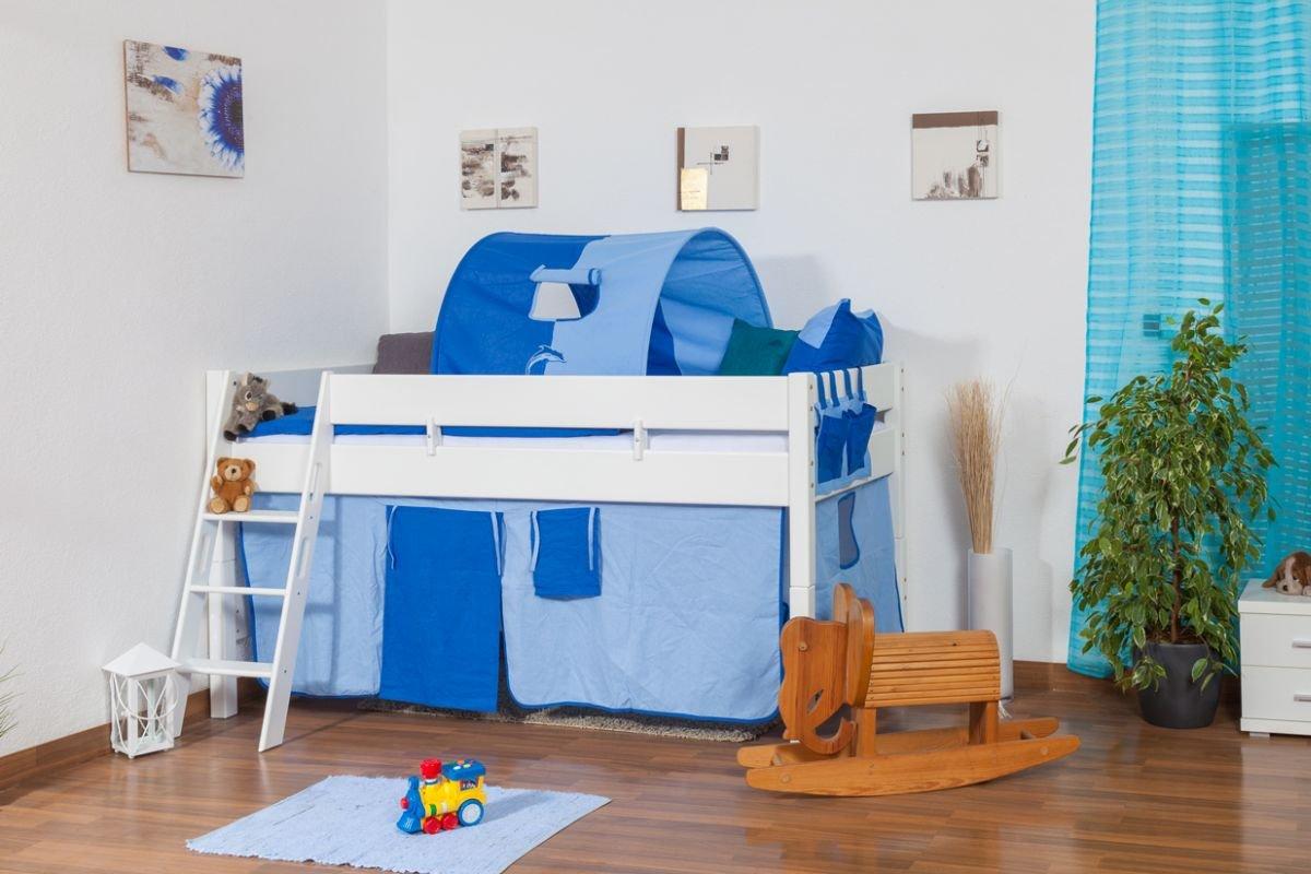 hochbett massivholz buche interesting hochbett spielbett buche massivholz wei turm rutsche. Black Bedroom Furniture Sets. Home Design Ideas