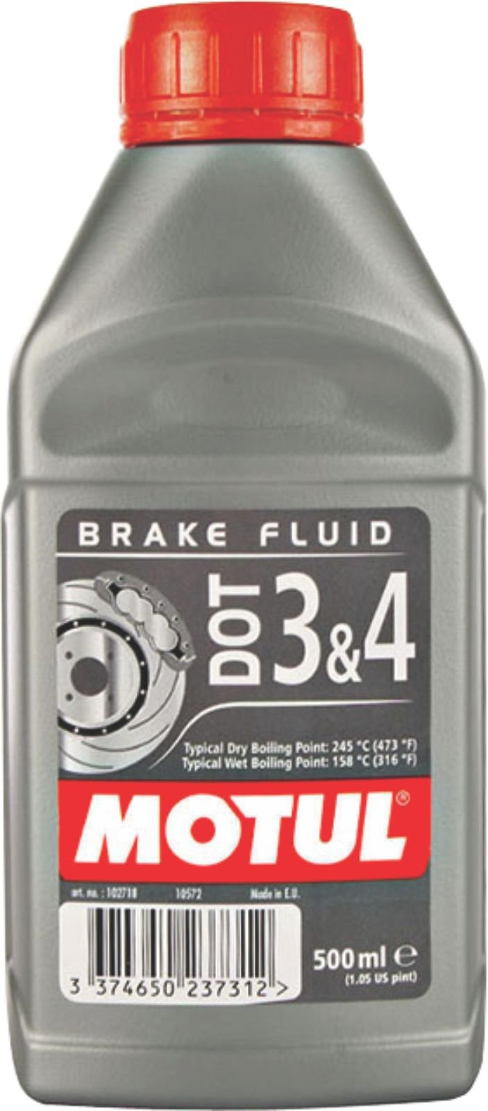 Motul Dot 3 and 4 Brake Fluid (0.5 L) product image