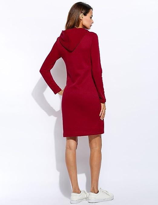 Adoeve Hooded Sweatshirt Casual Hoodies Dress for Women Fashion Hoodies at Amazon Womens Clothing store: