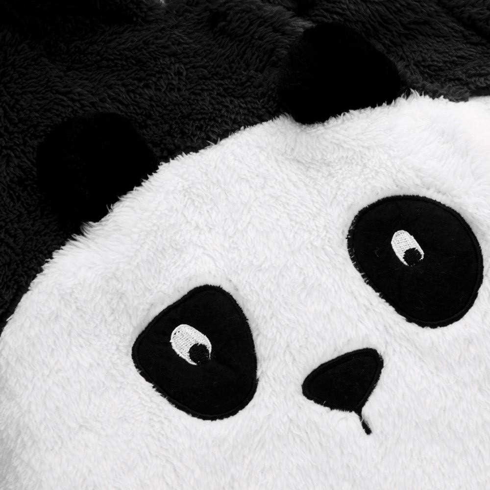 HCFKJ Ropa Bebe Ni/ñA Invierno Ni/ñO Manga Larga Camisetas BEB Conjuntos Moda Beb/é Reci/éN Nacido Ni/ñAs Chicos S/óLido Dibujos Animados Oreja Terciopelo Sudaderas Mameluco Ropa