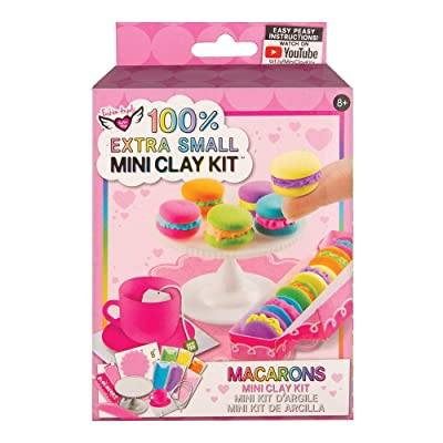 Fashion Angels Easy Peasy 'Mini Clay Kit' Macarons: Toys & Games