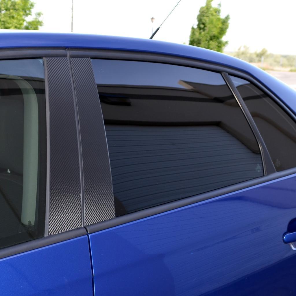 2004-2014 Nissan Titan Armada PIL-120-CF-02 Ferreus Industries Carbon Fiber Pillar Post Trim Cover fits
