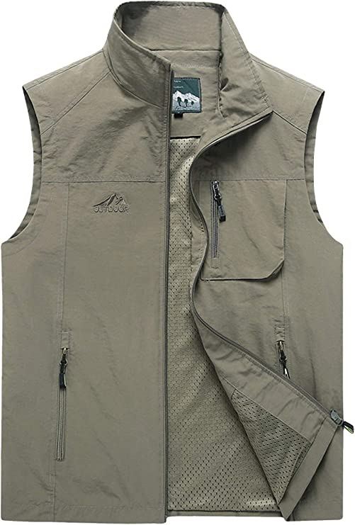 Men's Lightweight Travel Vest