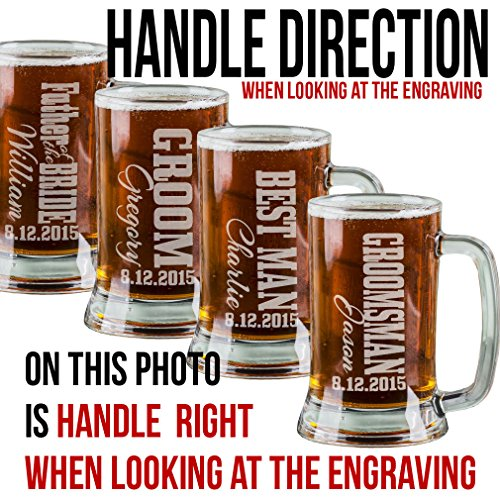 Man Cave Gifts Wholesale : Oz best man engraved beer mug wedding party gifts for