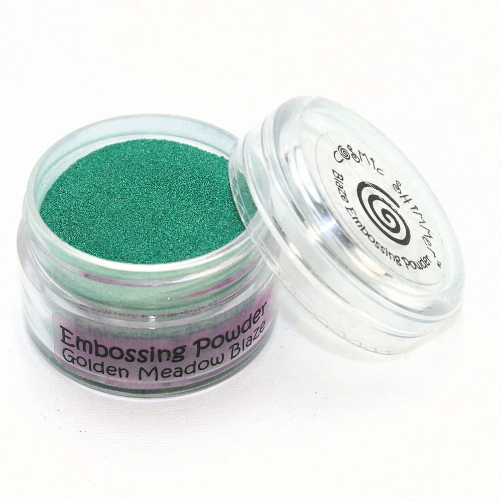 Cosmic Shimmer Blaze Empossing Powder, Golden Meadow Creative Expressions CSEPGOLMEA