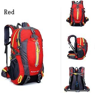 36-55L Sac à dos escalade Oxford Waterproof Lightweight Sac à dos Camion d'équitation Pack Paquet d'épaules pour hommes et femmes W30 x H52 x T20 CM