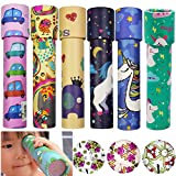 SWZY Magic Kaleidoscope Kit- 6 Pack Classic Rotating Tin Kaleidoscope Game Educational Toys Puzzle Decompression Toy Gift for Kids & Adults(Random Color)