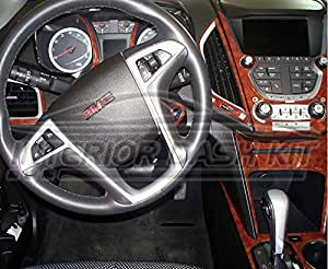 gmc terrain sle slt interior burl wood dash trim kit set 2010 2011 2012 automotive. Black Bedroom Furniture Sets. Home Design Ideas