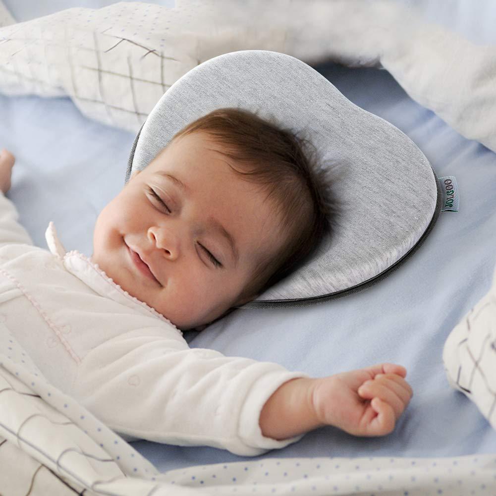 Amazon.com: Almohada moldeadora de cabeza de bebé, almohada ...